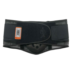 Ergodyne ProFlex 1051 Mesh Back Support With Lumbar Pad, Small, Black