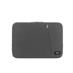"""Solo® Oswald Computer Sleeve For 15.6"""" Laptops, Gray, SLV1615-10"""