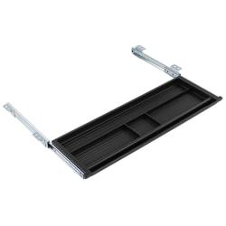 "Mount-It! Under Desk Pencil Drawer, 2""H x 21-1/4""W x 5-5/8""D, Black"