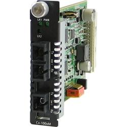 Perle C-1000MM-S1SC120U Media Converter - 1 x SC Ports - 1000Base-SX, 1000Base-BX-U - Internal