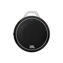 """JBL Micro Wireless Ultra Portable Bluetooth® Speaker, 6.5"""" x 4.1"""" x 2"""", Black"""