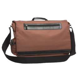 """Nuo Mobile Field Bag For 17.3"""" Laptops, Brown"""