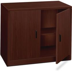 HON® 10500 Series Storage Cabinet, Mahogany