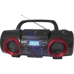 Naxa MP3/CD Boombox with Bluetooth - 1 x Disc - 3.20 W - CD-DA, MP3 - Auxiliary Input
