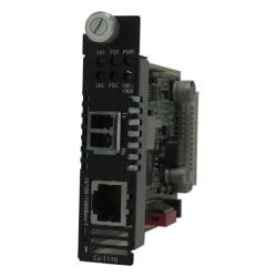 Perle CM-1110-S2LC120 Gigabit Ethernet Media Converter - 1 x Network (RJ-45) - 1 x LC Ports - DuplexLC Port - 1000Base-ZX, 10/100/1000Base-T - Internal