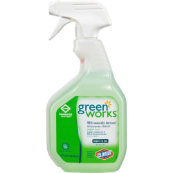 Green Works All-Purpose Cleaner - Spray - 0.25 gal (32 fl oz) - 216 / Bundle - Green
