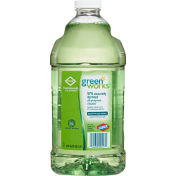 Green Works All-Purpose Cleaner Refill - Liquid - 0.50 gal (64 fl oz) - 468 / Pallet - Green