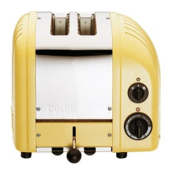 Dualit NewGen Extra-Wide Slot Toaster, 2-Slice, Canary Yellow
