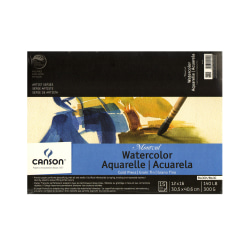 """Canson Montval® Watercolor Paper, 12"""" x 16"""", 15 Sheets"""