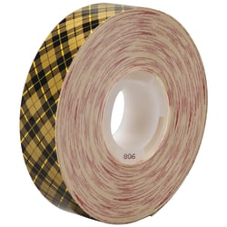 """Scotch® 908 Adhesive Transfer Tape, 1"""" Core, 0.75"""" x 36 Yd., Clear, Case Of 48"""