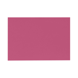 """LUX Flat Cards, A1, 3 1/2"""" x 4 7/8"""", Magenta Pink, Pack Of 500"""