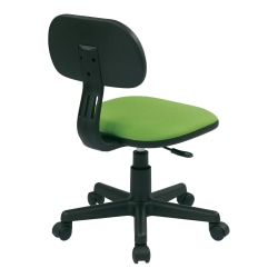 Office Star™ Student Task Chair, Green