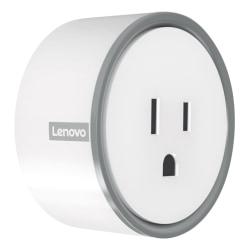 Lenovo® Smart Plug, White, ZG38C02544
