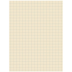 "Pacon® Quadrille-Ruled Heavyweight Drawing Paper, 1/2"" Squares, Manila, Pack Of 500 Sheets"