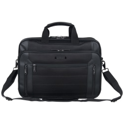 """Kenneth Cole Reaction Keystone Collection 17.3"""" Laptop Case, Black"""
