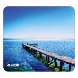 "Allsop® Naturesmart™ Mouse Pad, 8"", Blue"