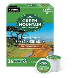 Green Mountain Coffee® Kenyan Highlands Coffee K-Cup®, Box Of 24