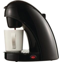 Brentwood TS-112B Single Cup Coffee Maker - Black - Black