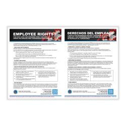 Coronavirus Response Act Poster Bilingual Office Depot
