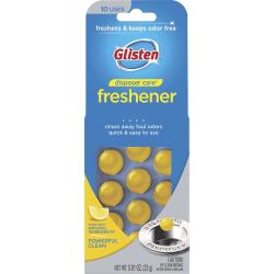 Glisten Disposer Care Freshener - Tablet - 0.81 oz - 10 / Pack