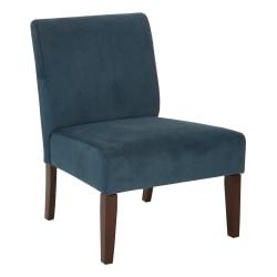 Ave Six Laguna Chair, Azure/Dark Espresso