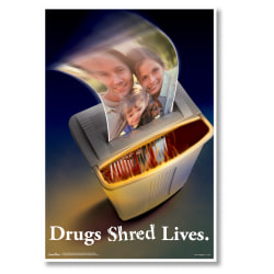 """ComplyRight Substance Abuse Poster, Illegal Drug, English, 15"""" x 22"""""""