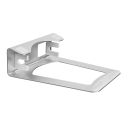 Mount-It! Vertical 2-In-1 Laptop Stand/Holder, Silver, MI-7276