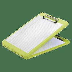 "SKILCRAFT® Portable Desktop Clipboard, 9""H x 13""W x 1""D, Bright Yellow"