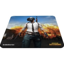 """SteelSeries QcK+ Mouse Pad - PLAYERUNKNOWN'S BATTLEGROUNDS - 0.2"""" x 17.7"""" x 15.7"""" Dimension - Multicolor - Rubber Base - Anti-slip"""