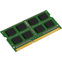Kingston ValueRAM 4GB DDR3 SDRAM Memory Module - For Notebook - 4 GB (1 x 4 GB) - DDR3-1600/PC3-12800 DDR3 SDRAM - CL11 - 1.35 V - Non-ECC - Unbuffered - 204-pin - SoDIMM