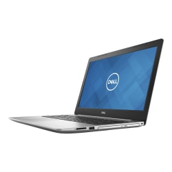 """Dell™ Inspiron 15 5575 Laptop, 15.6"""" Screen, AMD Ryzen 5, 8GB Memory, 256GB Solid State Drive, Windows® 10 Home, i5575-A588SLV-PUS"""