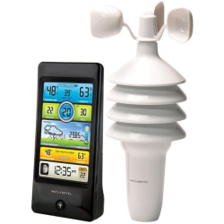 AcuRite Pro Color Weather Station with Wind Speed - Weather Forecaster330 ft - Desktop, Wall Mountable