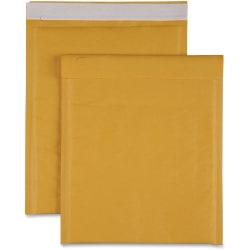 "Sparco Size 2 Bubble Cushioned Mailers - Bubble - #2 - 8 1/2"" Width x 12"" Length - Self-sealing - Kraft - 100 / Carton - Kraft"