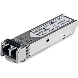 StarTech.com Cisco GLC-FE-100FX Compatible SFP Module - 100BASE-FX Fiber Optical SFP Transceiver - Lifetime Warranty - 100 Mbps - Maximum Transfer Distance: 2 km (1.2 mi)