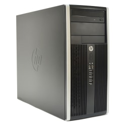 HP Pro 6300 Refurbished Desktop PC, 3rd Gen Intel® Core™ i5, 8GB Memory, 500GB Hard Drive, Windows® 10 Professional