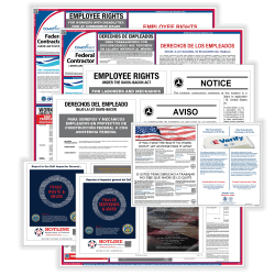 ComplyRight Federal Contractor Poster Bundle, Bilingual