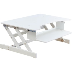 Lorell™ Sit-To-Stand Desk Riser, White