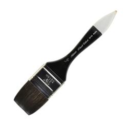 "Silver Brush 30145 Black Velvet Series Paint Brush, 1 1/2"", Wash Bristle, Squirrel Hair/Synthetic Filament, Multicolor"