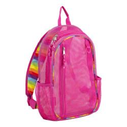 Eastsport Sport Mesh Backpack, Striped English Rose