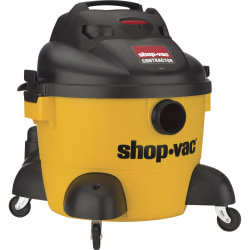 Shop-Vac Contractor Canister Vacuum Cleaner, 6 Gallon, Black/Yellow
