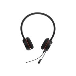 Jabra EVOLVE 20SE Headset - Stereo - USB - Wired - Over-the-head - Binaural - Supra-aural - Noise Canceling