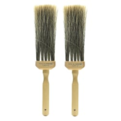 Royal & Langnickel Faux Bristle Flogging Brush, Size 2, Synthetic Bristle, Brown