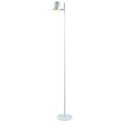"""Kenroy Home Vidal Floor Lamp, 53""""H, White"""