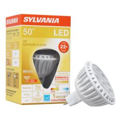 Sylvania LEDvance MR16 Dimmable 700 Lumens LED Light Bulbs, 6 Watt, 3000 Kelvin/Warm White, Case Of 6 Bulbs