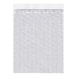 "Office Depot® Brand Self-Seal Bubble Pouches, 15-1/2""H x 8""W, Clear, Case Of 300 Pouches"
