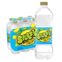 Nestlé® Splash Natural Lemon Flavored Water Beverage, 16.9 Oz, Case of 6 Bottles