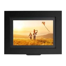 "Brookstone PhotoShare Friends and Family Smart Frame 8"" Black - 8"" Digital Frame - Black - 1920 x 1080 - 16:9 - Slideshow, Message Mode, Clock - Built-in 8 GB - Built-in Speaker - USB - Wireless LAN - Freestanding, Wall Mountable"