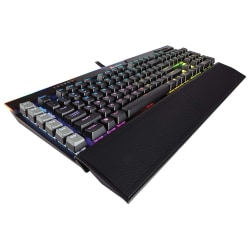 Corsair K95 RGB PLATINUM Mechanical Gaming Keyboard, CHERRY® MX Speed, Black