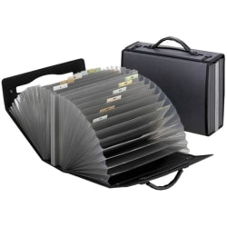 Pendaflex® Professional Polypropylene Expanding Carrying Case With 26 Pockets, Letter Size, Smoke