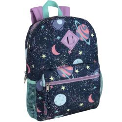 Trailmaker Space Backpack Set, Navy/Pink